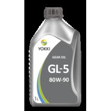 YOKKI  IQ GEAR OIL 80 w 90 GL-5  1л