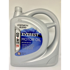 Everest Масло моторное 5W40 (SN A3/B3/B4) (synt.) (5л)