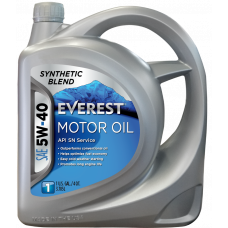 Everest Масло моторное 5W40 (SN A3/B3/B4) (synt.) (4л)