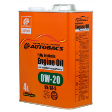 AUTOBACS Fully Synthetic 0W-20 SN/GF-5 4л