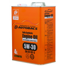 AUTOBACS Fully Synthetic 5W-30 SN/CF/GF-5 4л