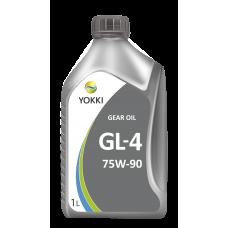 YOKKI GEAR OIL 75 w 90 GL-5 (FS) 1л