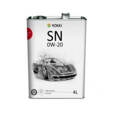 YOKKI SAE 0w20  API  (4л)